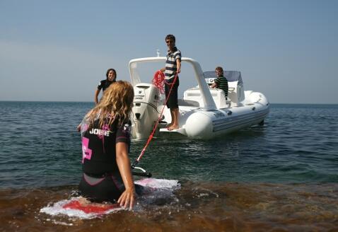 EAGLE 780 стеклопластиковая лодка