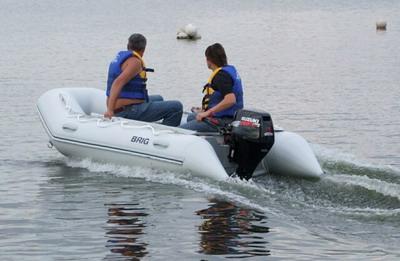 Тестовые испытания лодок BRIG