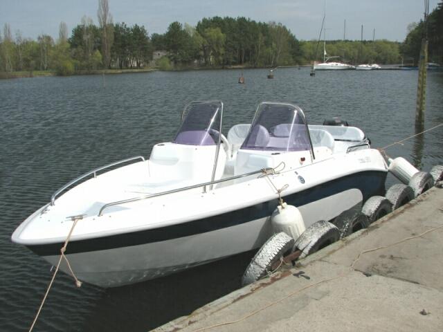 Тест-драйв катера  Cobra 1850 ТС
