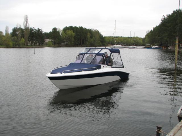 Испытания катера COBRA 1850 TC/SC