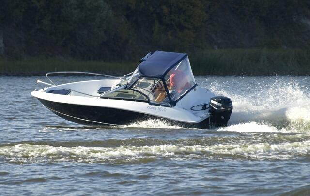 Тест-драйв катеров Cobra 1650 Sport и Cobra 1850 Sport