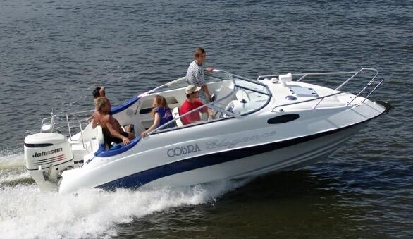 катер Cobra 2050 outboard