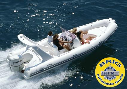 крейсерские надувные лодки повышенной комфортабельности EAGLE 645