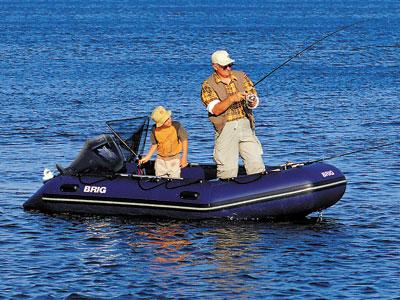 Как выбрать лодку Brig