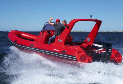 Надувная лодка с жестким дном RIB