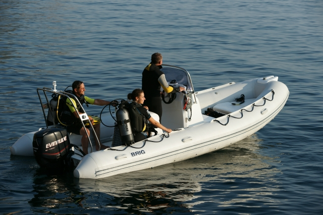 лодки BRIG  f570