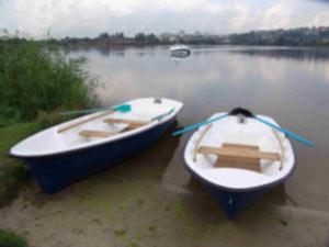 стеклопластиковые лодки П350 и П 450