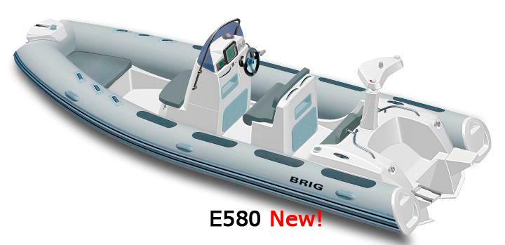 Лодки EAGLE E580