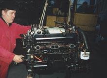 Сервисный центр фирмы БРИГ ЛТД. Механики и моторы
