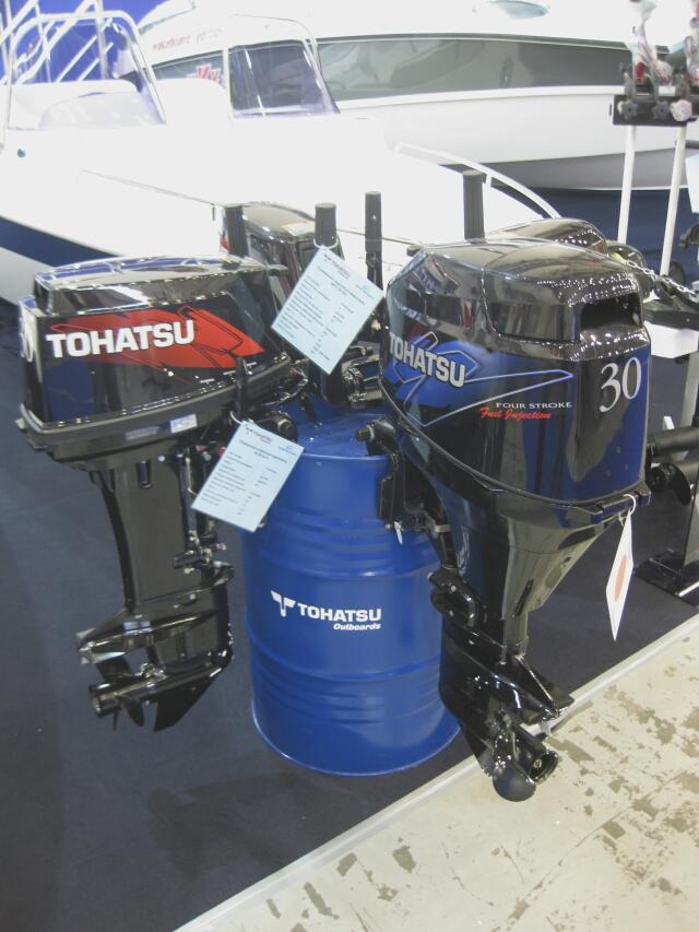 Двигатели Tohatsu